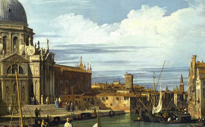 Canaletto - The Grand Canal at the Salute Church